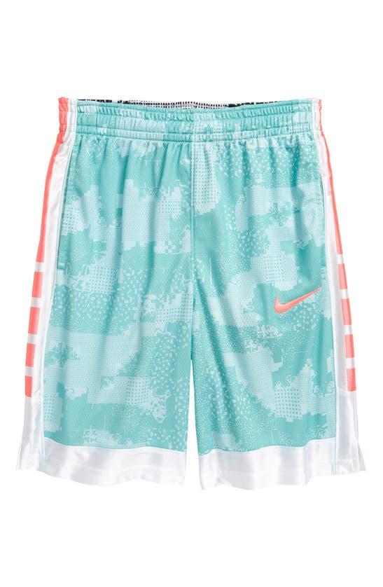 Nike Boys' Dri-fit Elite Super Shorts - Big Kid In White/ Black/ Black/ White