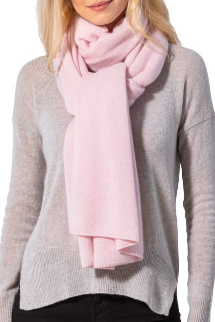 Image of AMICALE Cashmere Travel Wrap Scarf