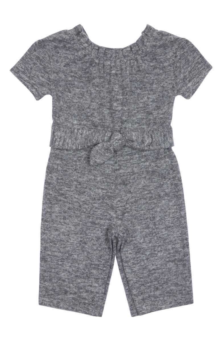 HABITUAL Emelia Hacci Jumpsuit, Main, color, DARK GREY HEATHER