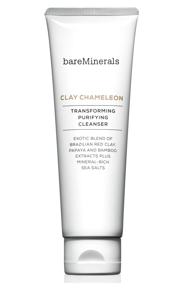 BAREMINERALS<SUP>®</SUP> Clay Chameleon Transforming Purifying Cleanser, Main, color, NO COLOR