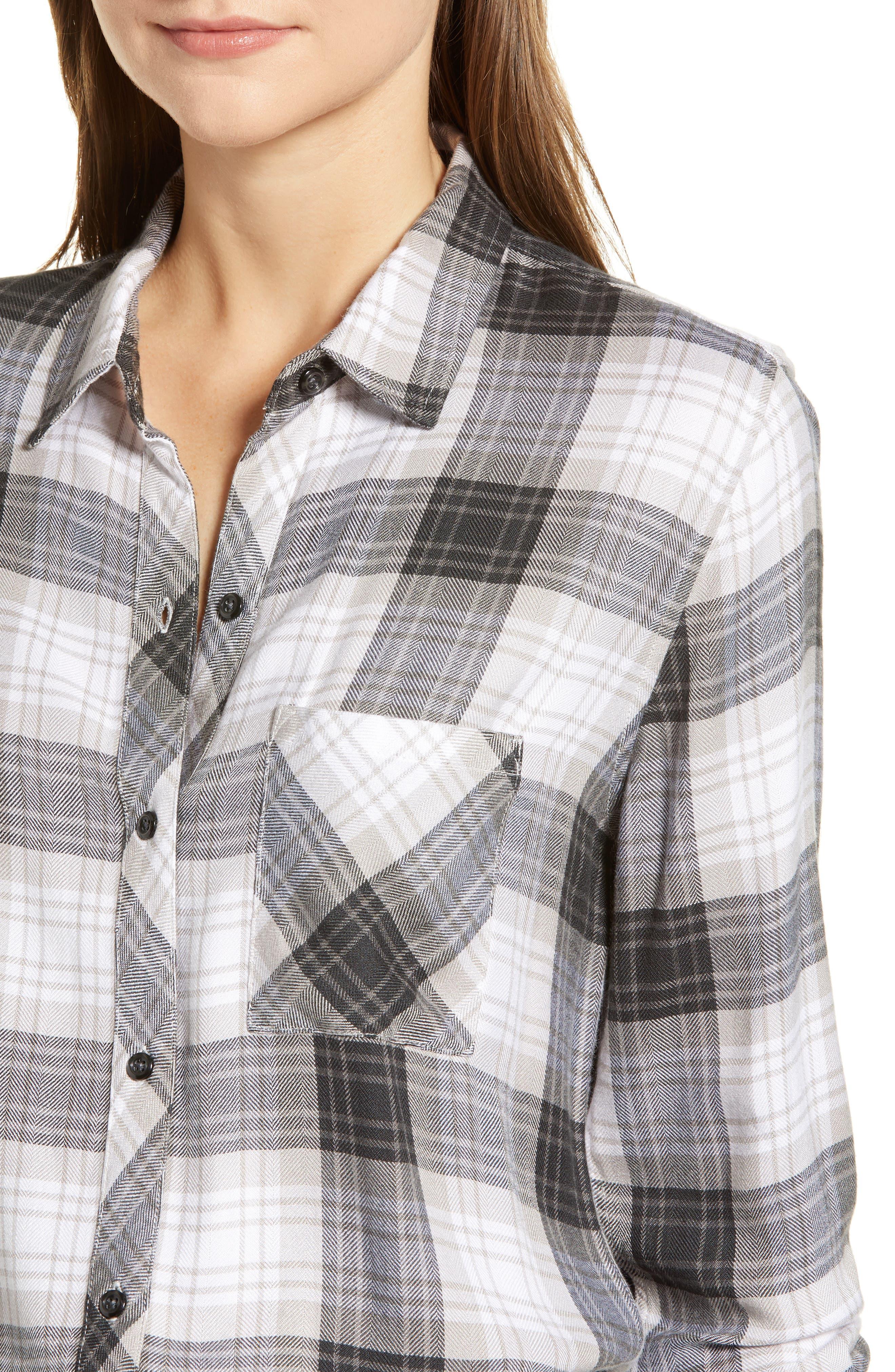 ,                             Hunter Plaid Shirt,                             Alternate thumbnail 247, color,                             074