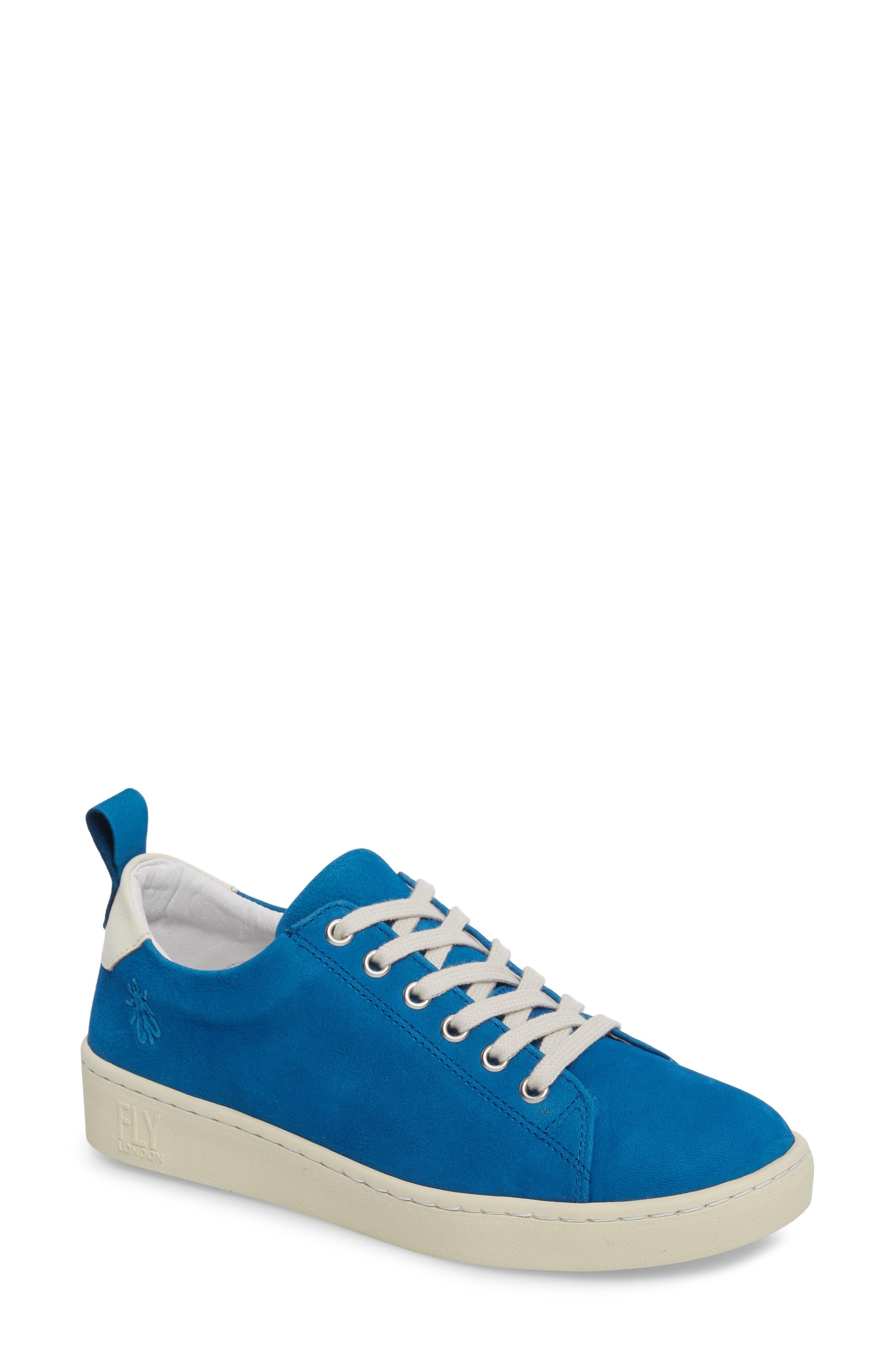 Fly London Maku Lace-Up Sneaker - Blue