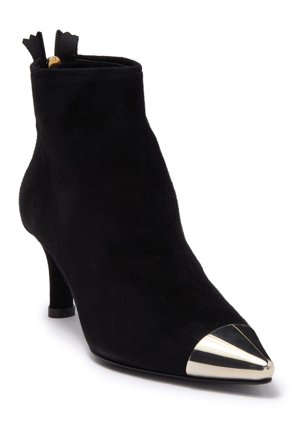 AGL   Suede Pointed Toe Bootie