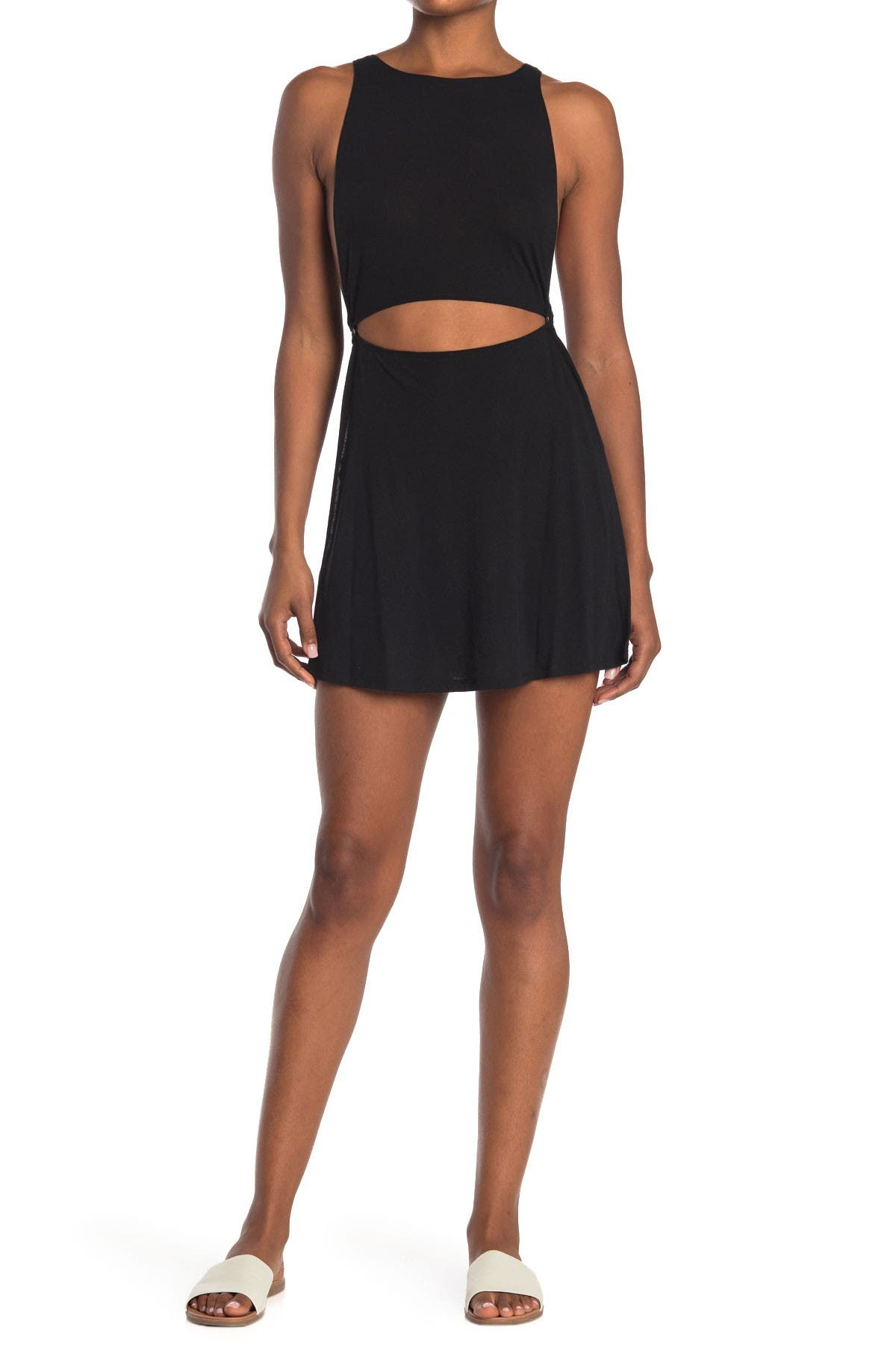 Image of The Bikini Lab Cutout Ring Cover Up Dress