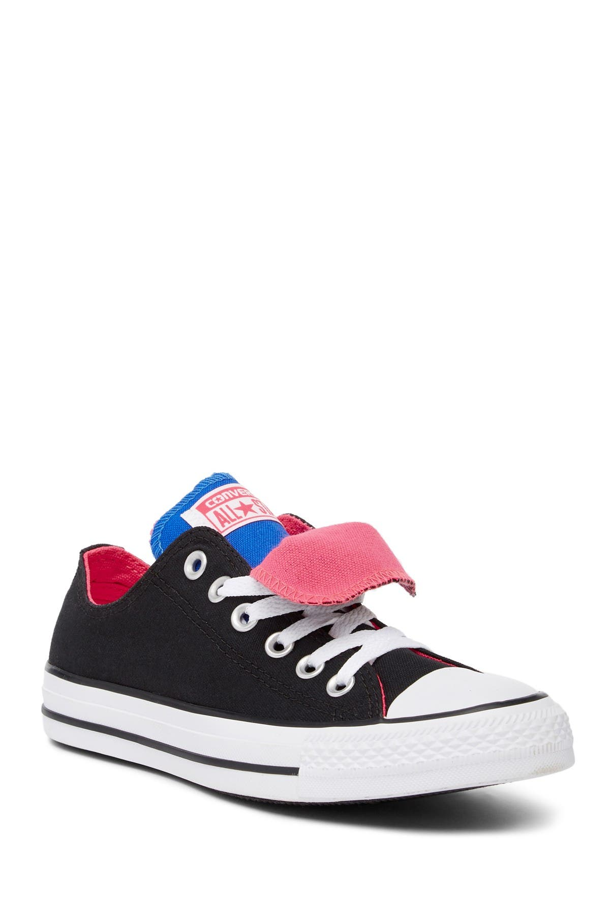 Image of Converse Chuck Taylor All Star Double Tongue Low Top Sneaker