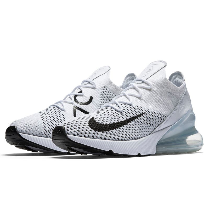 Nike Air Max 270 Flyknit W shoes turquoise white | WeAre Shop