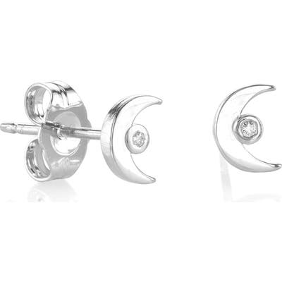 Syd By Sydney Evan Crescent Stud Earrings