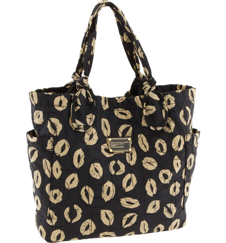 MARC JACOBS MARC BY MARC JACOBS 'Pretty Nylon Tate - Medium' Tote, Main, color, 012