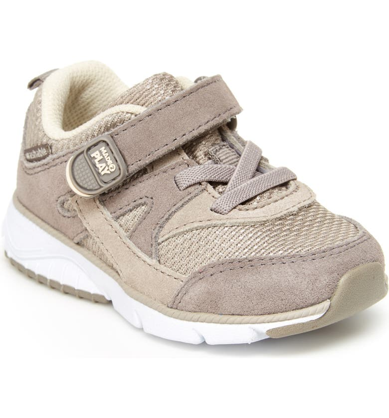 STRIDE RITE M2P Ace Sneaker, Main, color, TAN