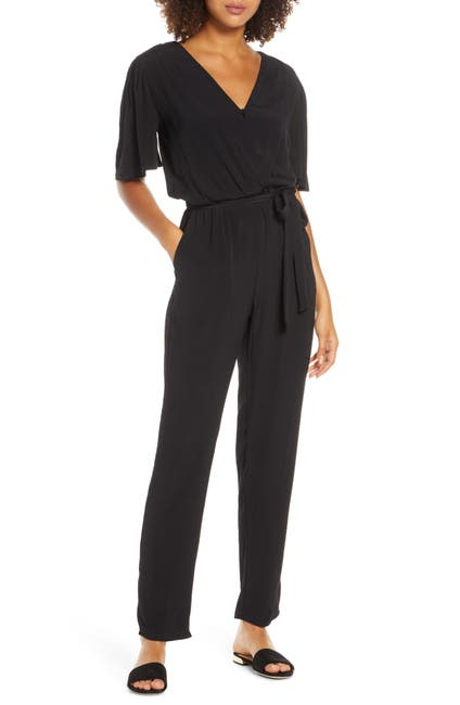 Image of Fraiche By J Wide Sleeve Jumpsuit