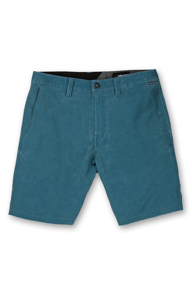 VOLCOM Faded Shorts, Main, color, NAVY SEA