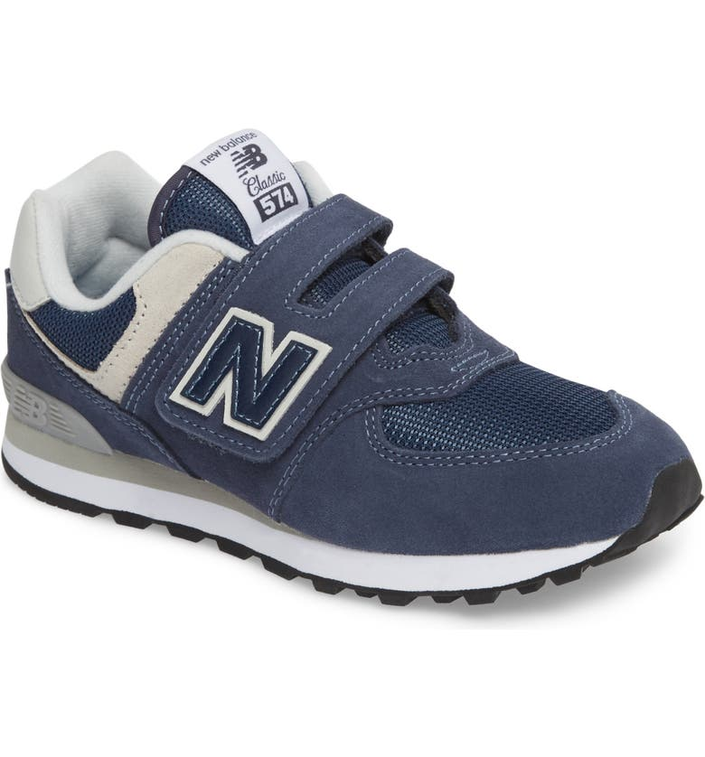 NEW BALANCE 574 Retro Surf Sneaker, Main, color, NAVY
