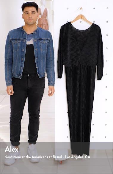 Textured Long Sleeve Maxi Dress, sales video thumbnail