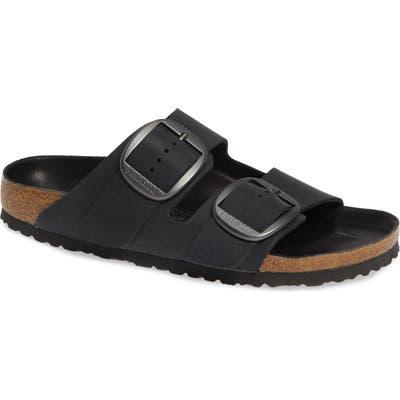 Birkenstock Arizona Big Buckle Slide Sandal,12.5 - Black