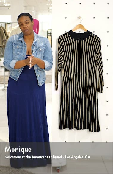 Vertical Stripe Dress, sales video thumbnail