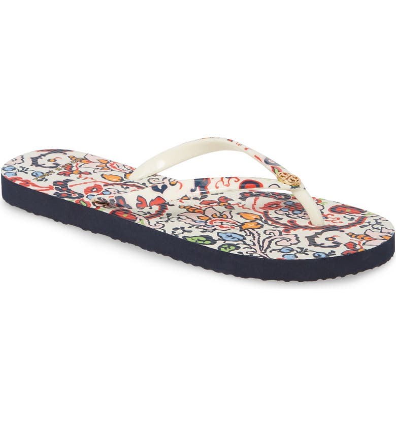 TORY BURCH Print Flip Flop, Main, color, 903