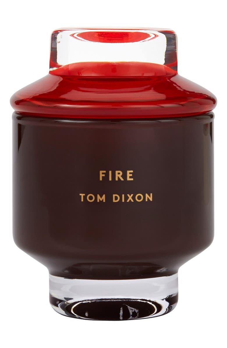 TOM DIXON 'Fire' Candle, Main, color, 000