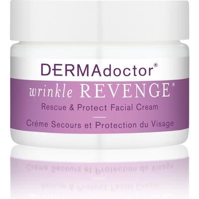 Dermadoctor Wrinkle Revenge Rescue & Protect Facial Cream, .7 oz