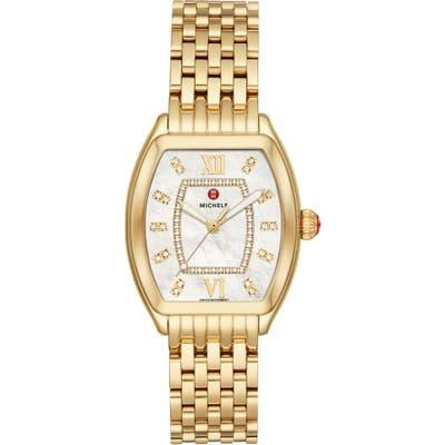 Michele Releve Diamond Dial Watch Head & Interchangeable Bracelet, 31Mm Mm