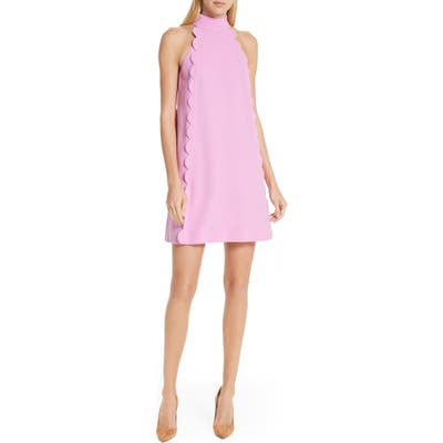 Ted Baker London Torrii High Neck Tunic Dress, Pink
