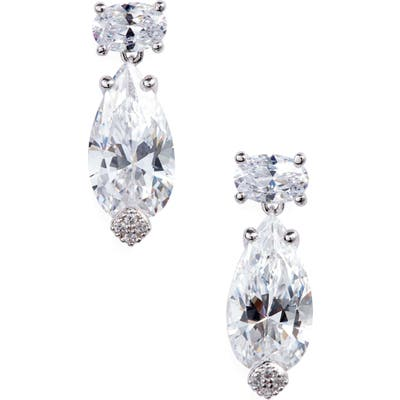 Nadri First Kiss Drop Earrings