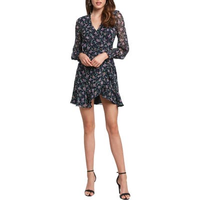 Bardot Miley Floral Minidress, Green