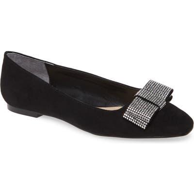 Nina Ferrie Bow Flat, Black