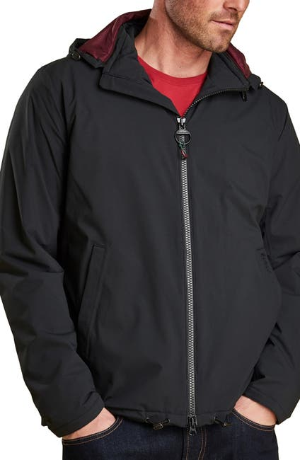 Barbour Men's Whitburn Waterproof Jacket (Black)