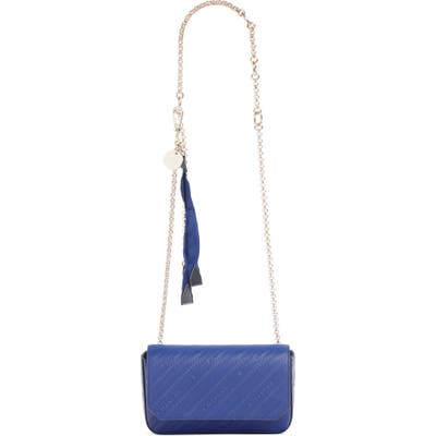 Givenchy Bond Leather Belt Bag - Blue