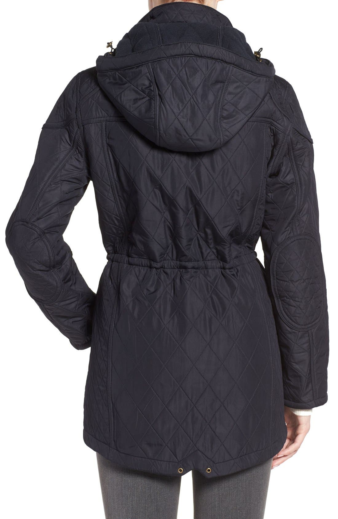 ,                             'Arrow' Quilted Anorak,                             Alternate thumbnail 16, color,                             410