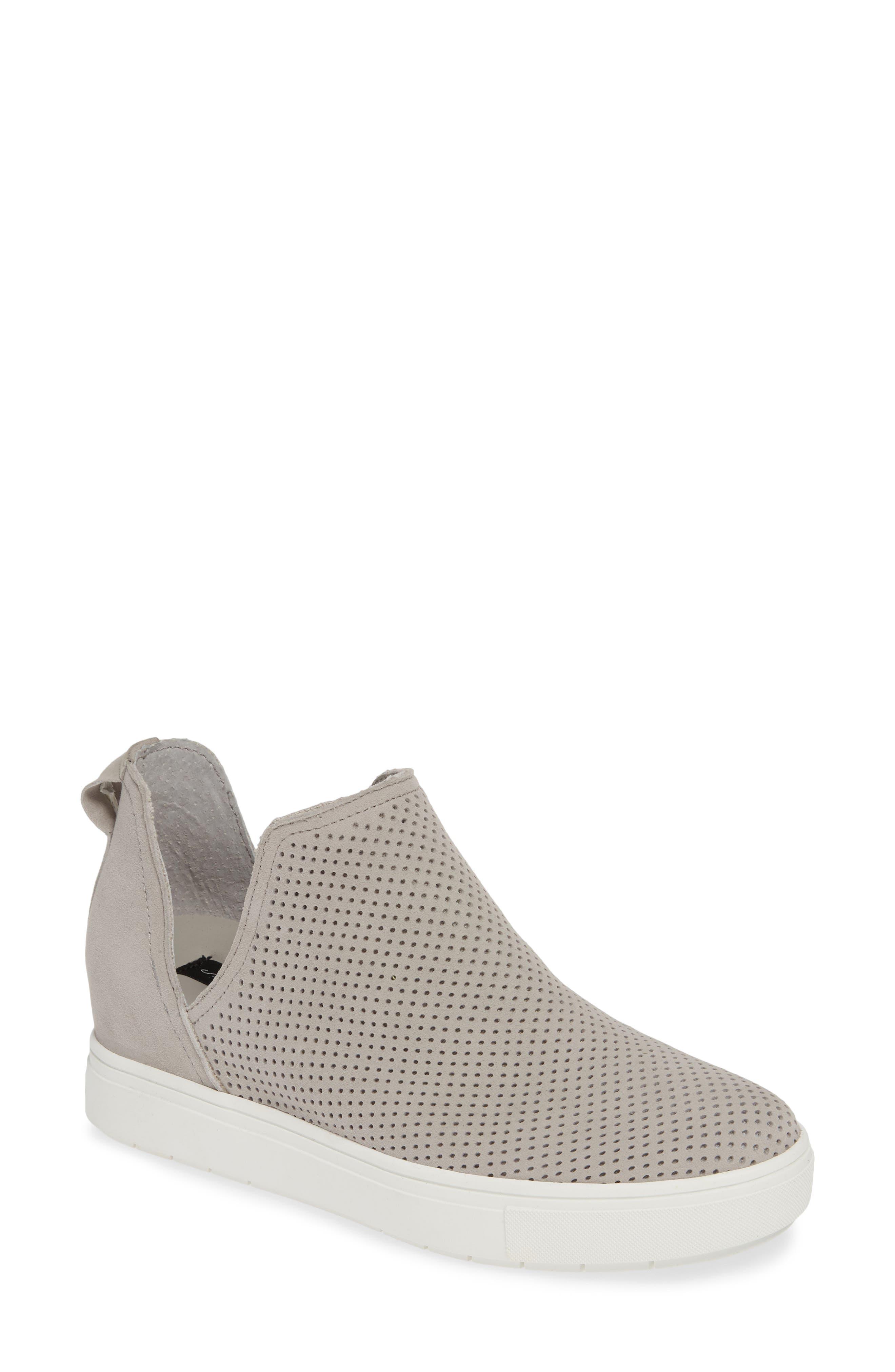 Steven By Steve Madden Canares High Top Sneaker, Grey
