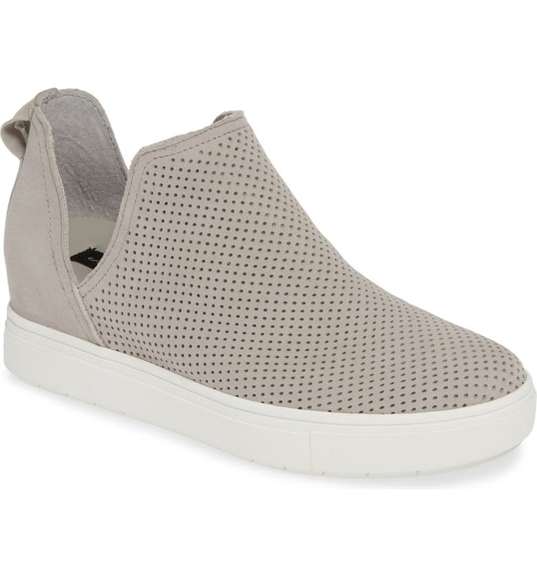 STEVEN BY STEVE MADDEN Canares High Top Sneaker, Main, color, GREY SUEDE