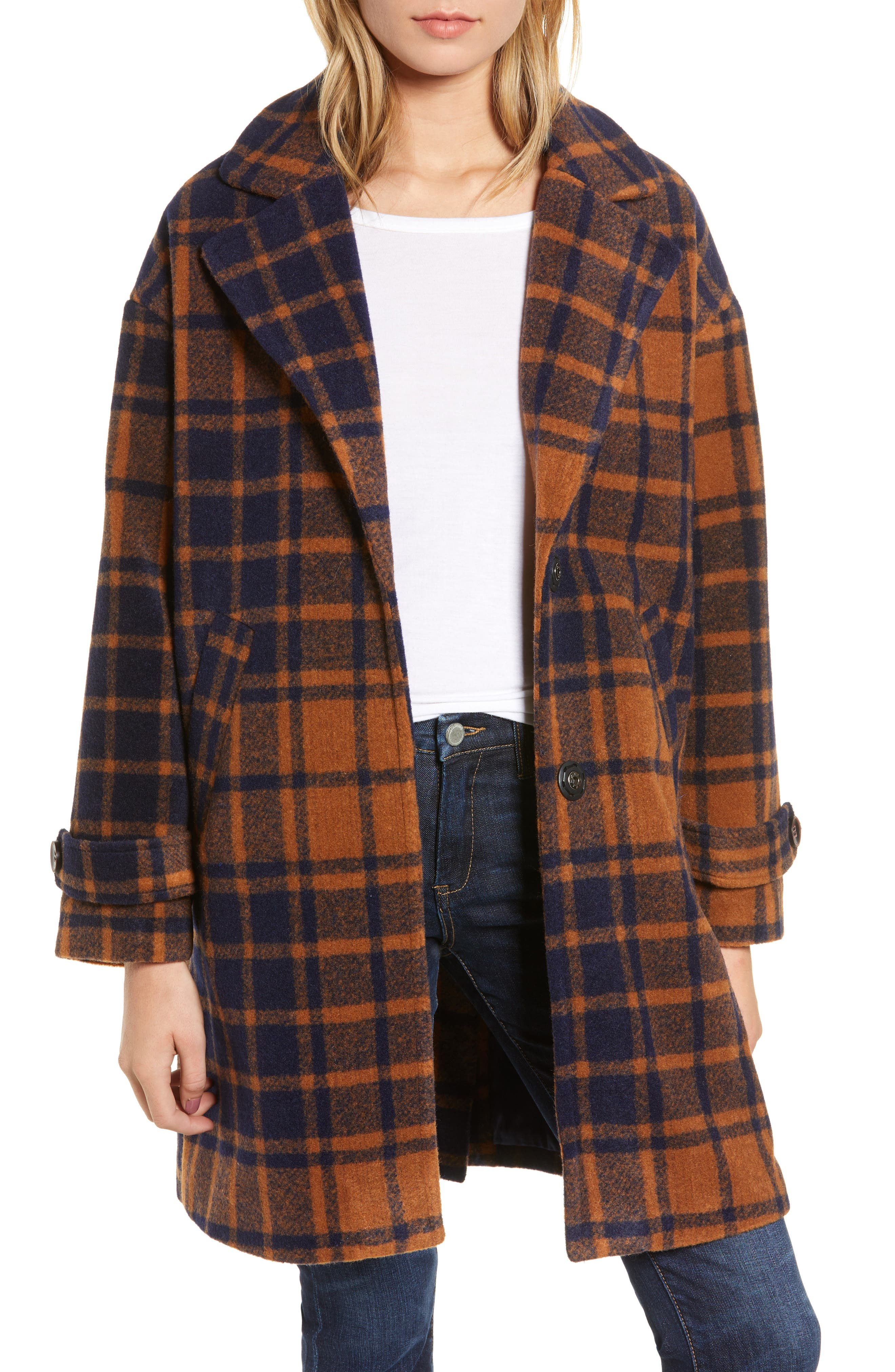 ,                             Kai Long Coat,                             Main thumbnail 1, color,                             800