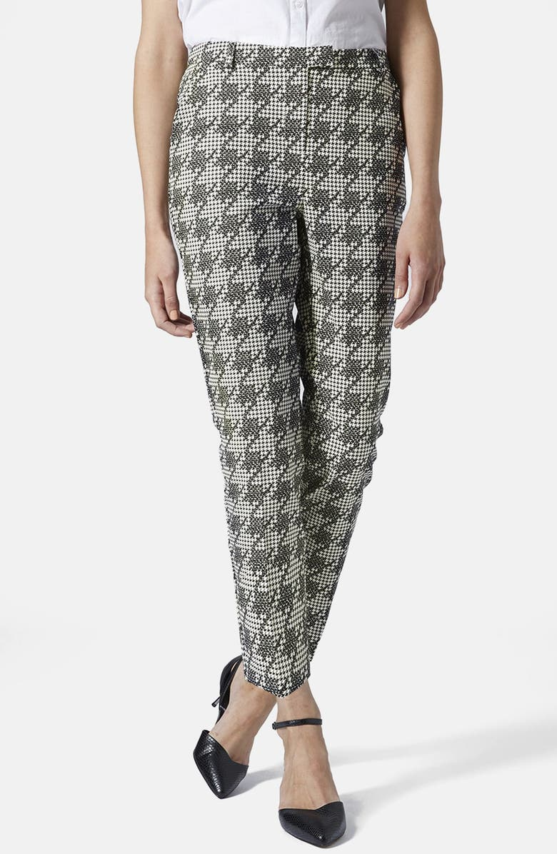 best selling best sale low cost Shadow Houndstooth Cigarette Trousers