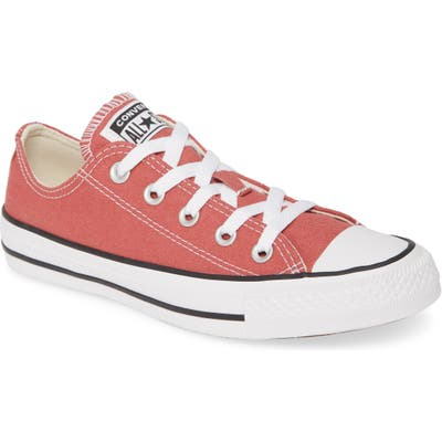 Converse Chuck Taylor All Star Seasonal Ox Low Top Sneaker- Red