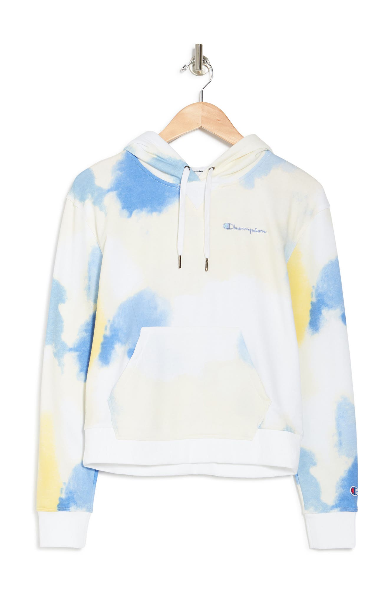 Champion Cottons CAMPUS FRENCH TERRY WATERCOLOR HOODIE