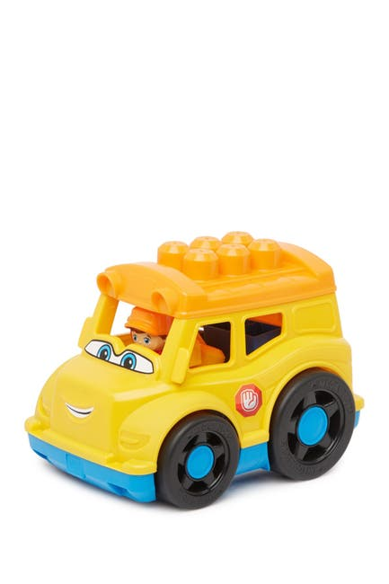Image of Mattel Mega Bloks Sonny School Bus