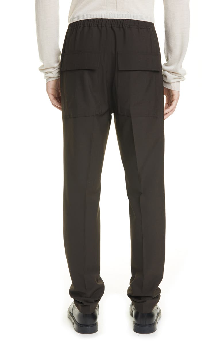 RICK OWENS Asta Drawstring Pants, Main, color, BRONZE