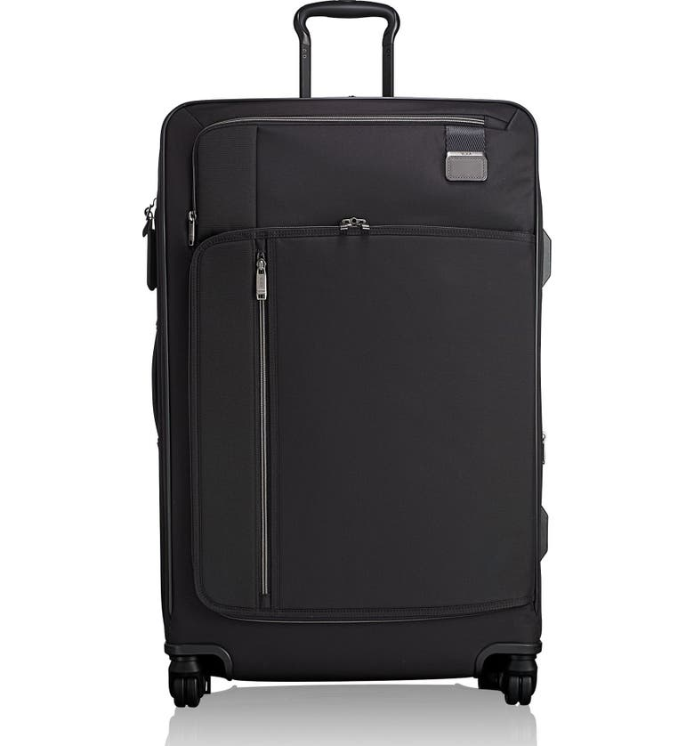 TUMI Merge 31-Inch Extended Trip Expandable Rolling Luggage, Main, color, BLACK CONTRAST
