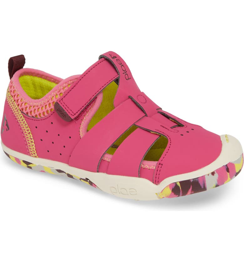 PLAE Sam 2.0 Fisherman Sandal, Main, color, ELECTRIC FUCHSIA