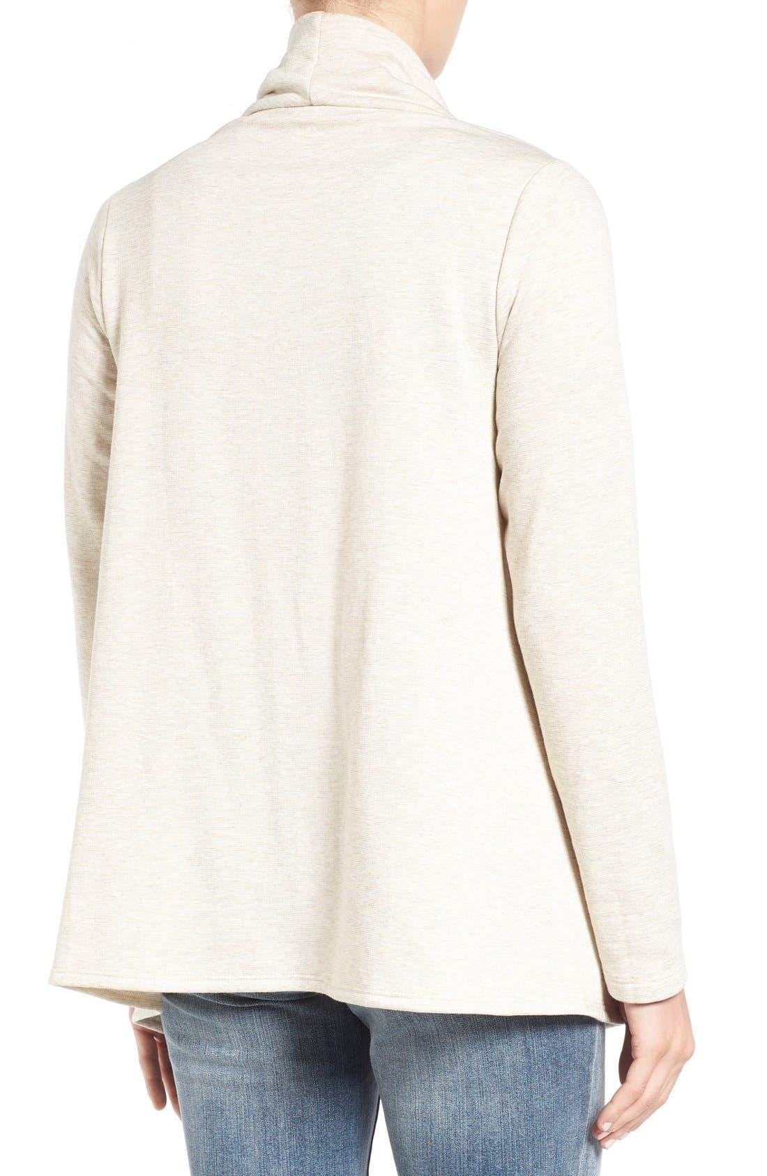 ,                             One-Button Fleece Wrap Cardigan,                             Alternate thumbnail 67, color,                             289