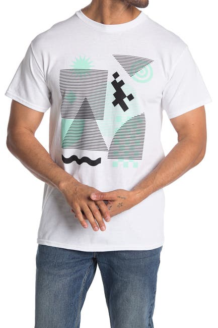 Image of Public Opinion Bold Crew Neck Graphic T-Shirt