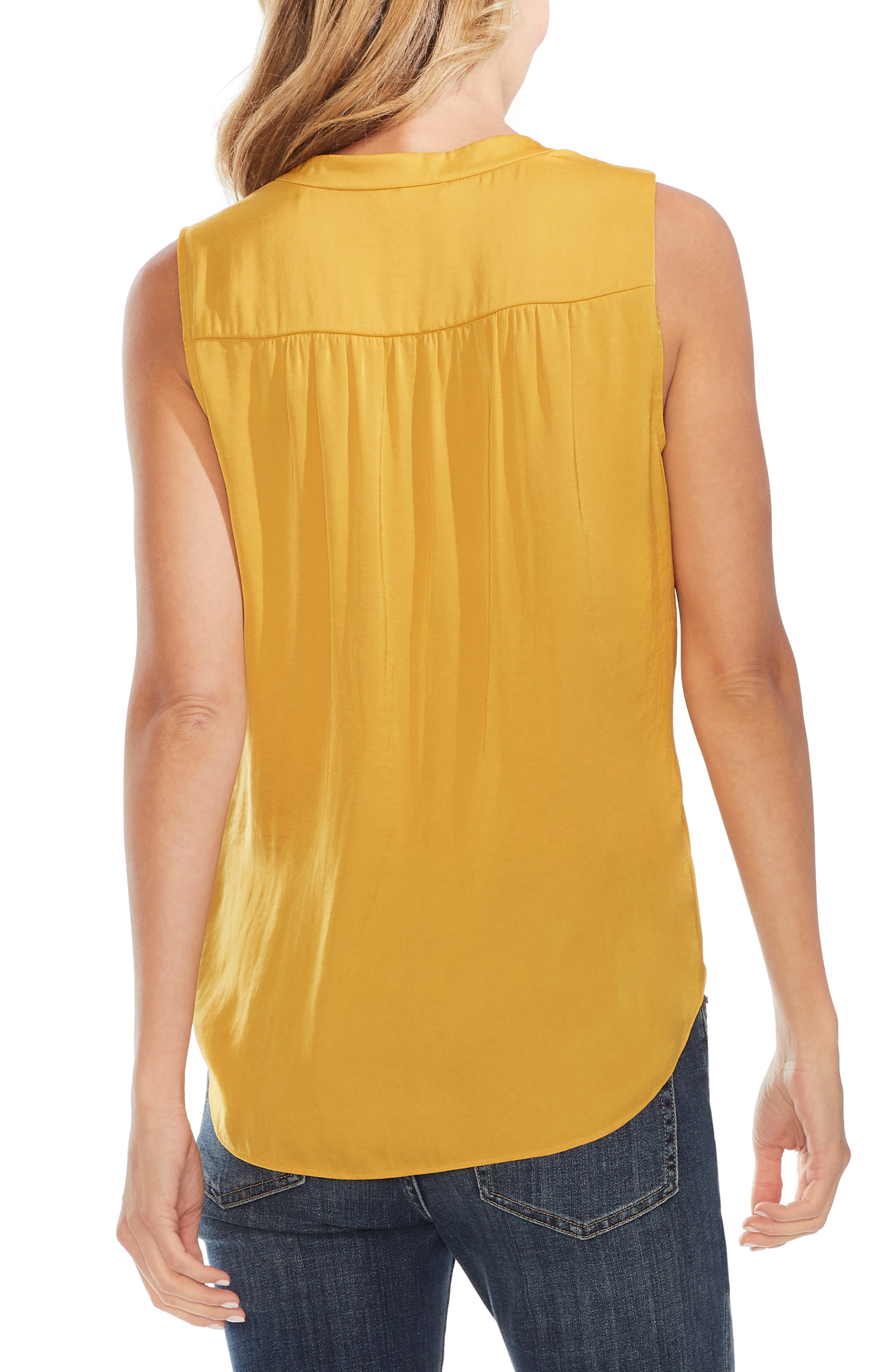 ,                             Rumpled Satin Blouse,                             Alternate thumbnail 80, color,                             752