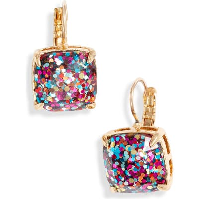 Kate Spade New York Small Square Lever Back Earrings