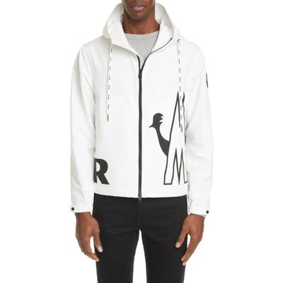 Moncler Mythos Hooded Jacket, Beige