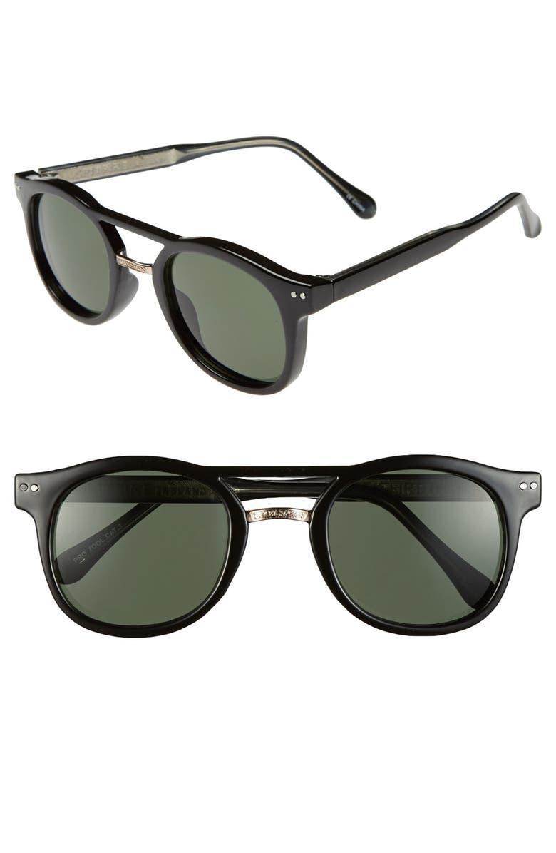 SPITFIRE 'Protool' 50mm Retro Sunglasses, Main, color, 001