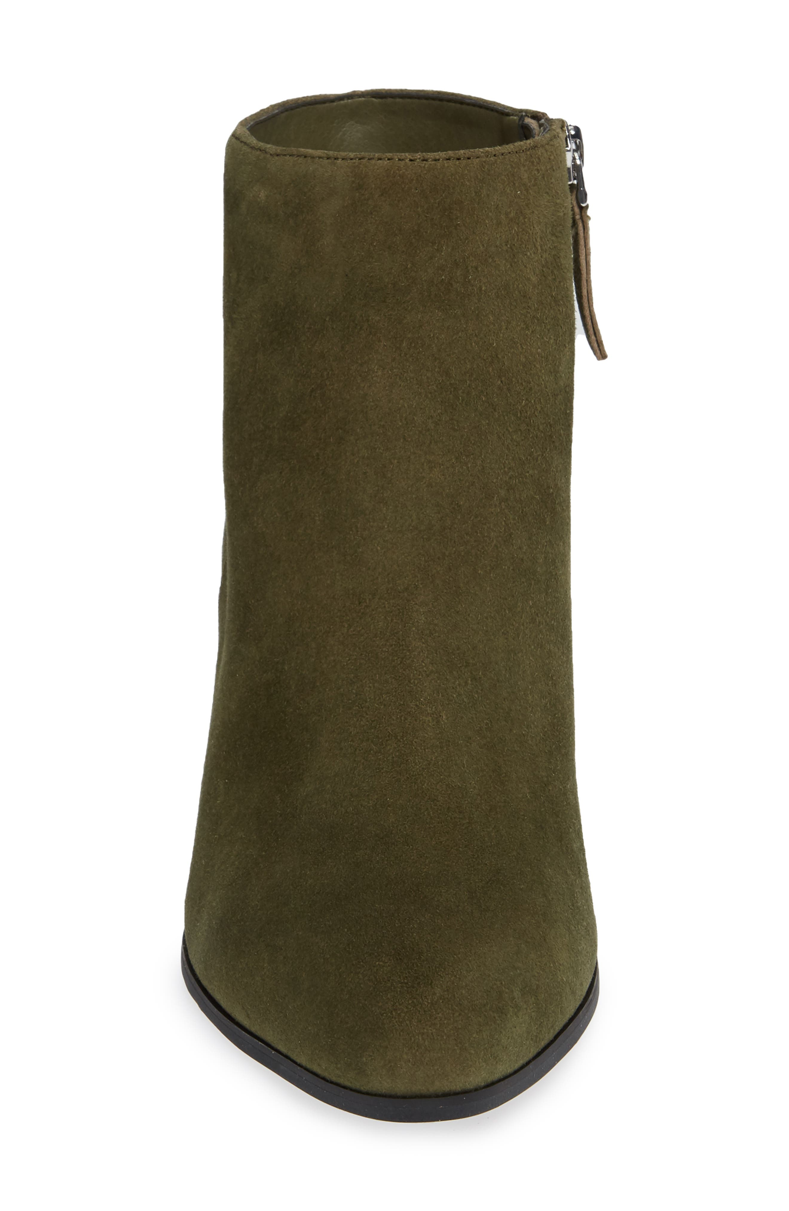 ,                             Amorie Bootie,                             Alternate thumbnail 4, color,                             MOSS SUEDE