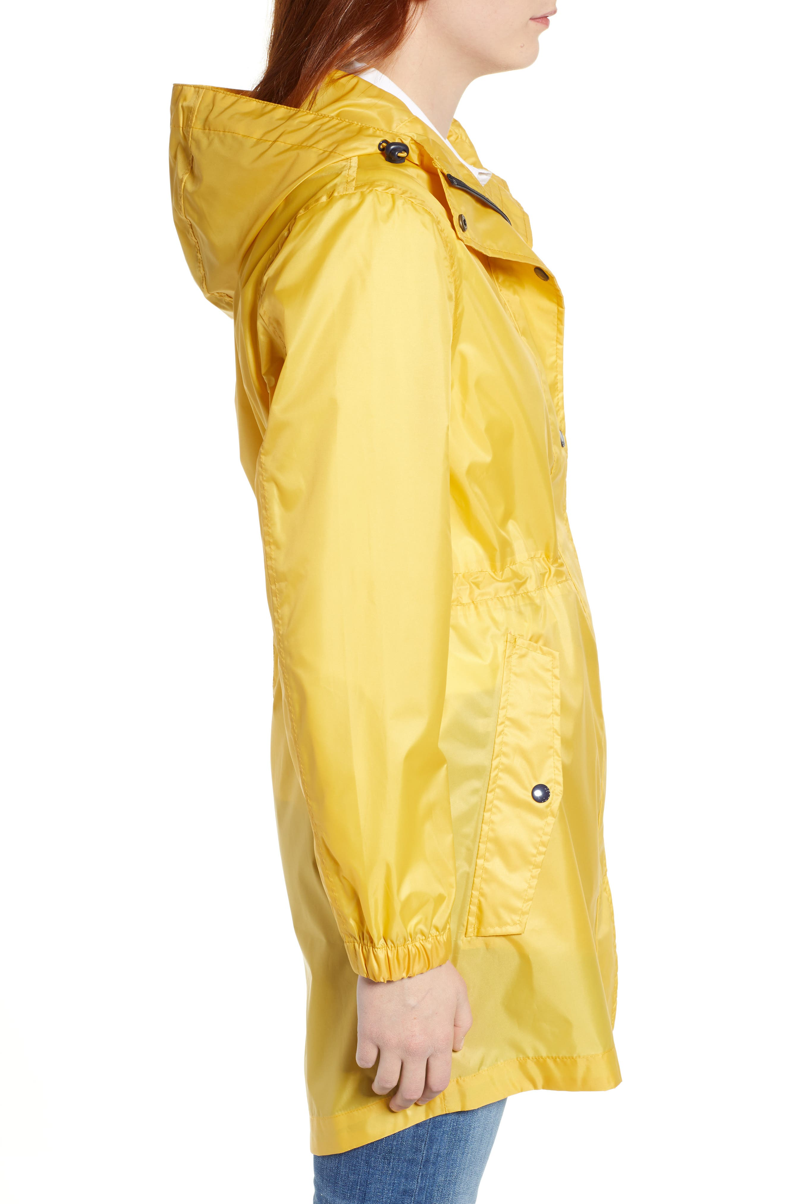 ,                             Right As Rain Golightly Packable Waterproof Hooded Jacket,                             Alternate thumbnail 4, color,                             ANTIQUE GOLD