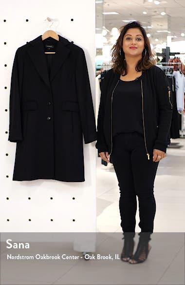Single Breast Wool Blend Jacket, sales video thumbnail