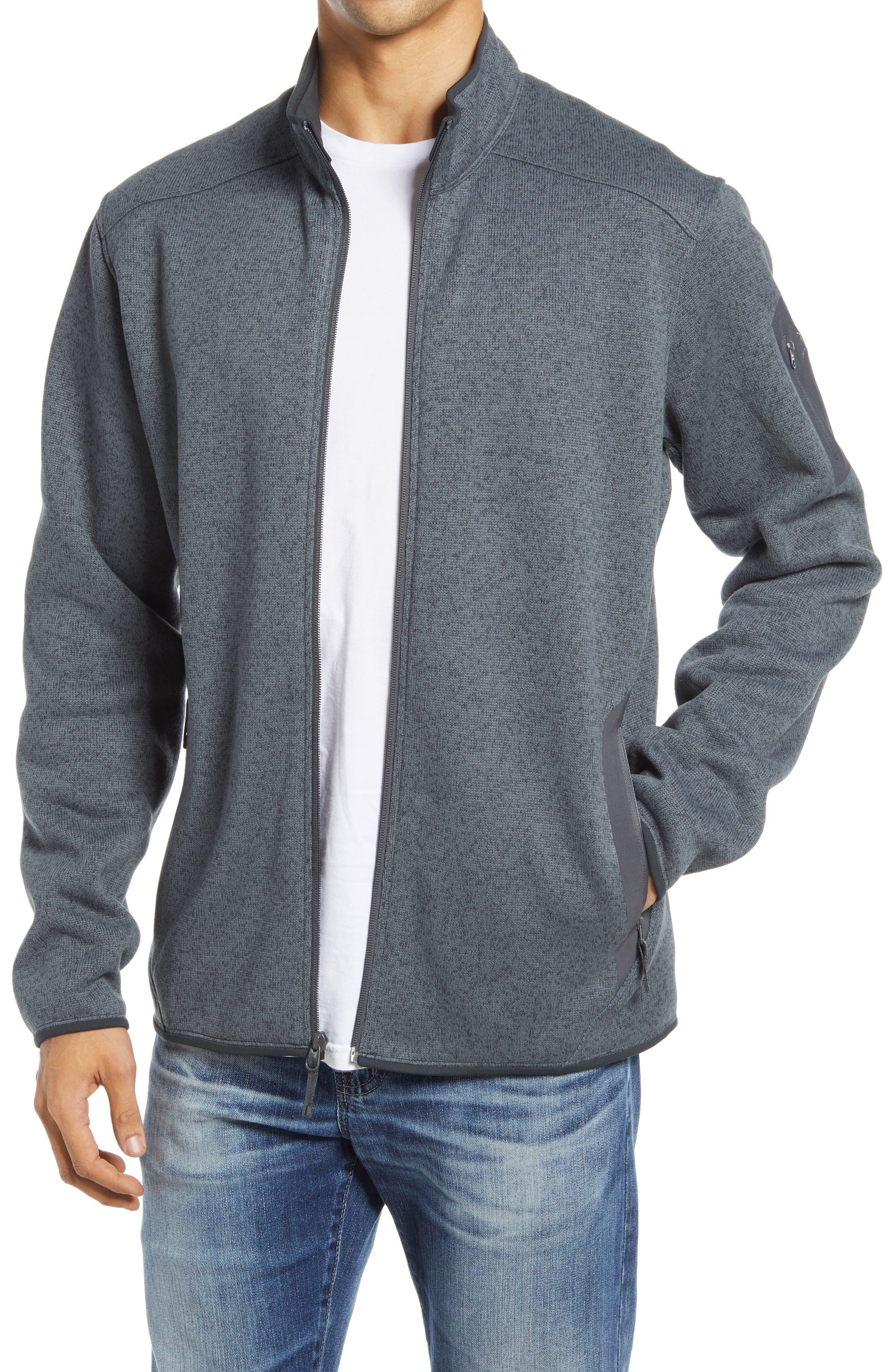 Covert Zip Sweater Cardigan